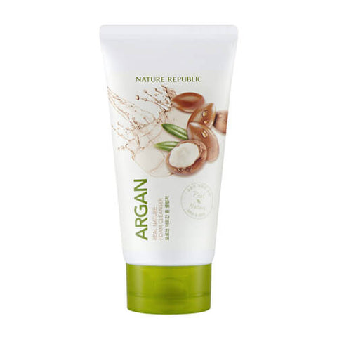 REAL NATURE ARGAN FOAM CLEANSER - NatureRepublic USA