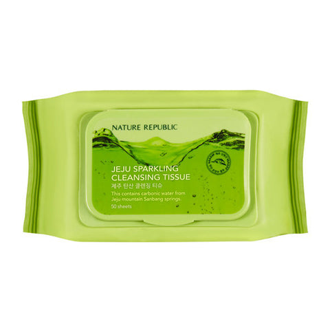 JEJU SPARKLING CLEANSING TISSUE - NatureRepublic USA