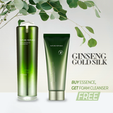 GINSENG GOLD SILK ESSENCE, GET A FREE GINSENG GOLD FOAM CLEANSER