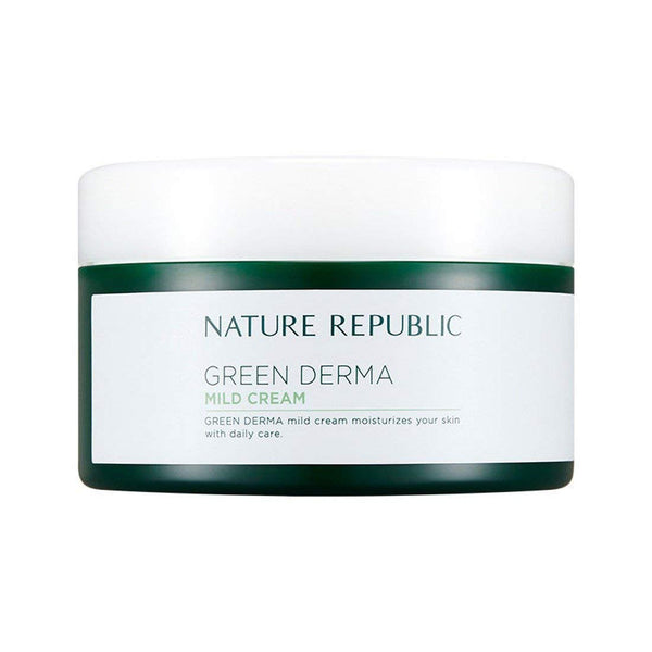 GREEN DERMA MILD CREAM - NatureRepublic USA