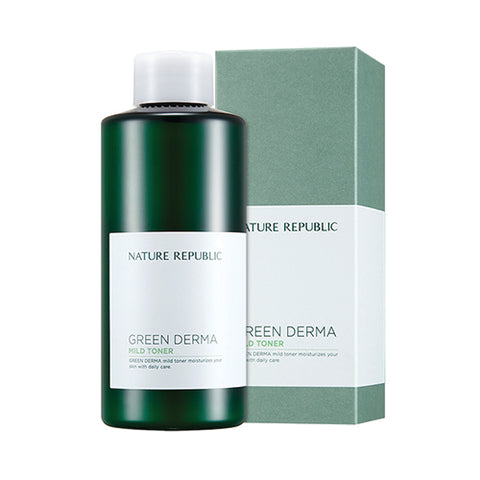 GREEN DERMA MILD TONER - NatureRepublic USA