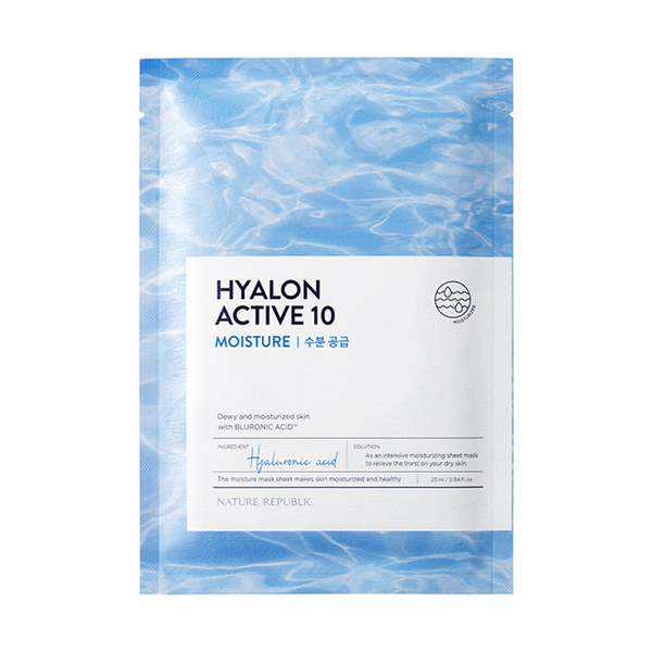 HYALON ACTIVE 10 MOISTURE MASK SHEET