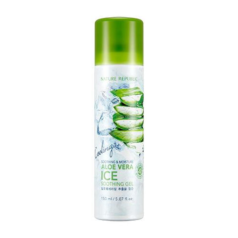 SOOTHING & MOISTURE ALOE VERA ICE SOOTHING GEL - NatureRepublic USA