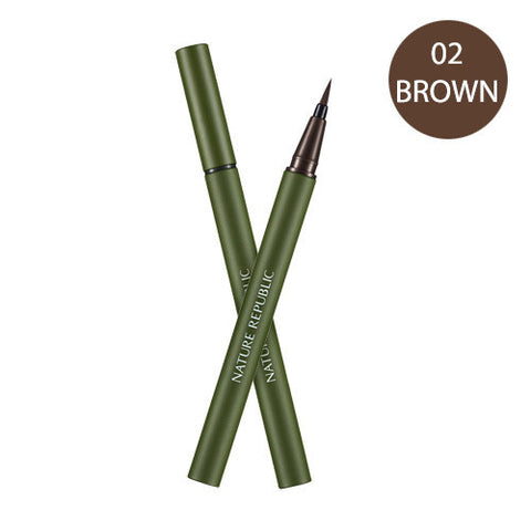 SOFT EYELINER 02 BROWN - NatureRepublic USA