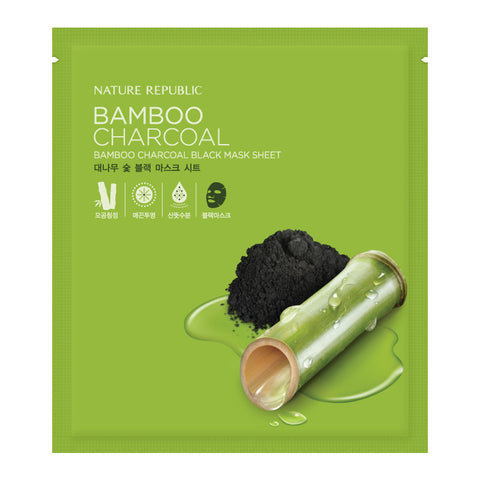 BAMBOO CHARCOAL BLACK MASK SHEET
