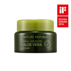 REAL SQUEEZE ALOE VERA CREAM - NatureRepublic USA