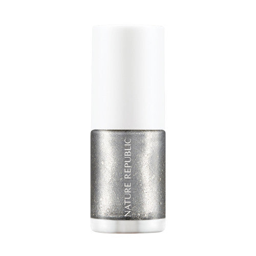 COLOR & NATURE NAIL COLOR 40 SILVER DRESS