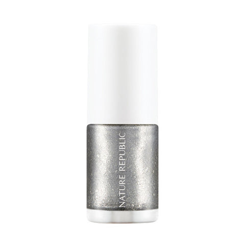 COLOR & NATURE NAIL COLOR 40 SILVER DRESS - NatureRepublic USA