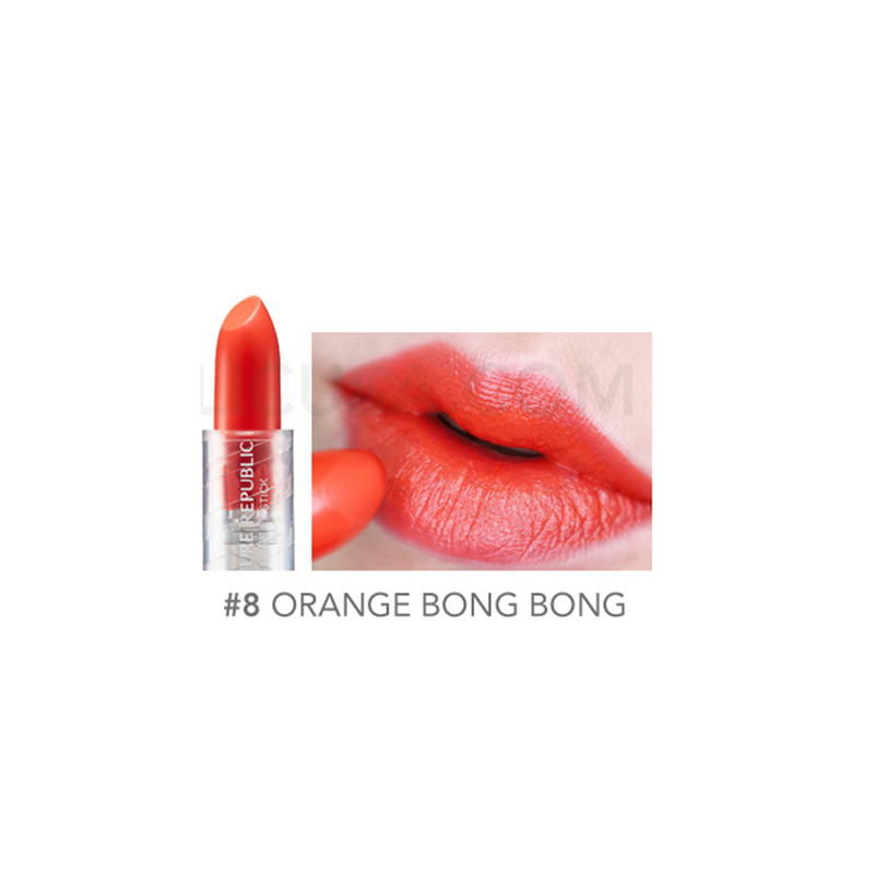 PURE SHINE LIPSTICK 08 ORANGE BONGBONG