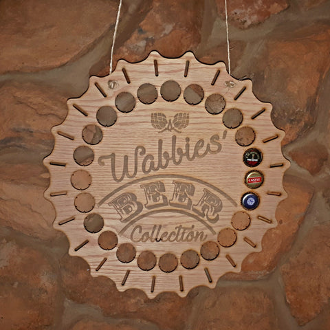 Beer Cap Collection Hanging Personalized Decoration