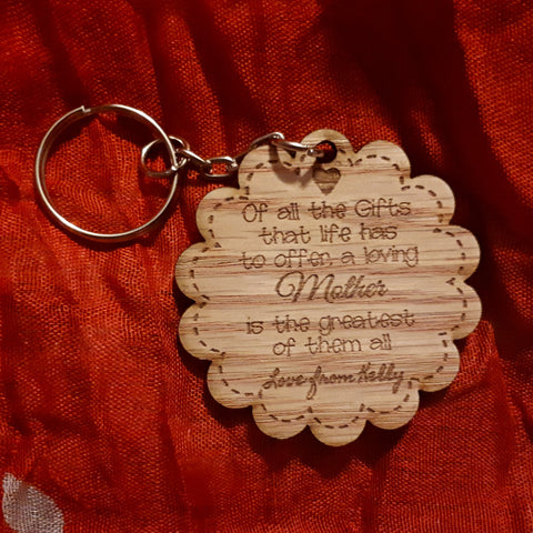 Loving Mother Keyring