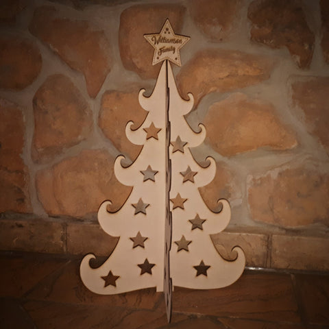 Modern Freestanding Christmas Tree