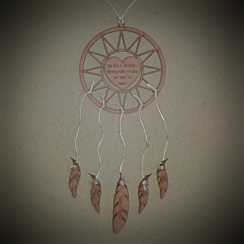 Dream Catcher with Personalize Feathers Hanging decorations