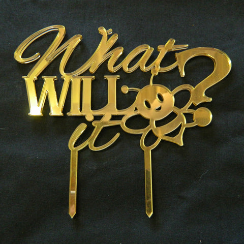 What will it Bee? Cake Topper