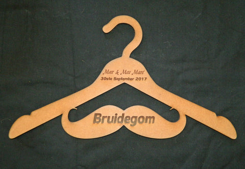 Groom Party Personalized Coat Hanger