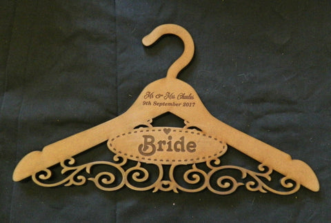 Bridal Party Personalized Coat Hanger