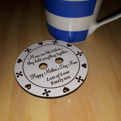 Mum Personalized Coaster Gift
