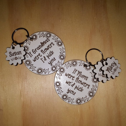 This Daddy/Mommy   Belongs to    Personalized Keyring