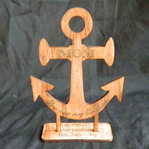 Anchor Standing Decoration