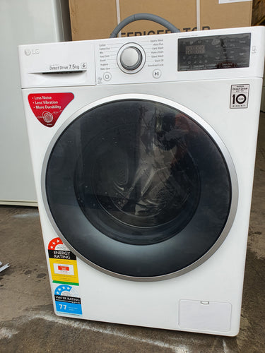 LG 7.5kg Direct Drive Front Loader [Factory Second] - DMS Appliances