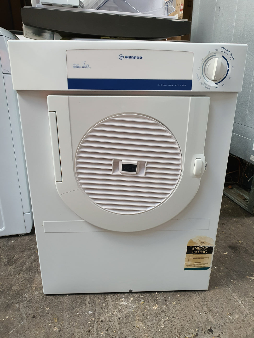Westinghouse 5kg Vented Dryer - DMS Appliances