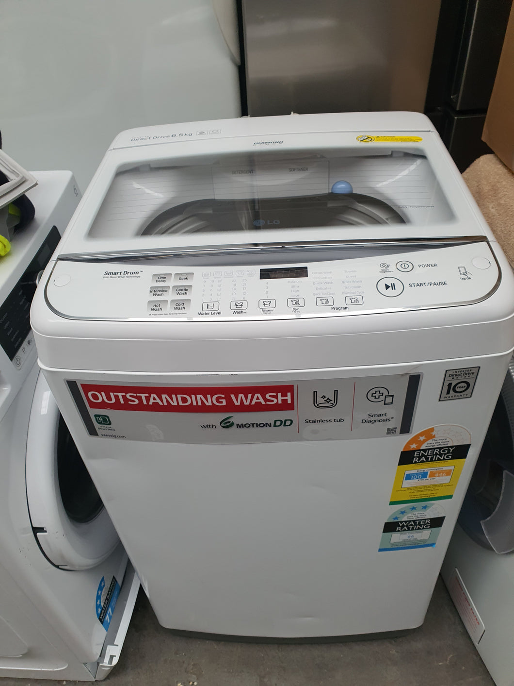 LG 6.5kg Top Loader (FACTORY SECOND) - DMS Appliances