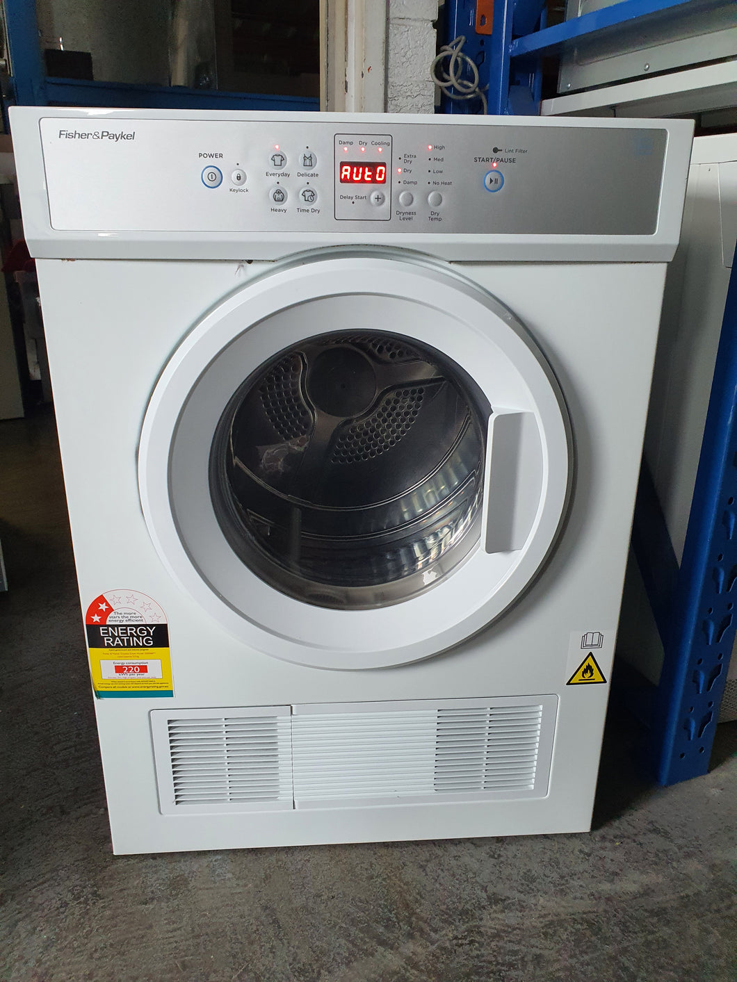 Fisher & Paykel 5kg Vented Dryer - DMS Appliances