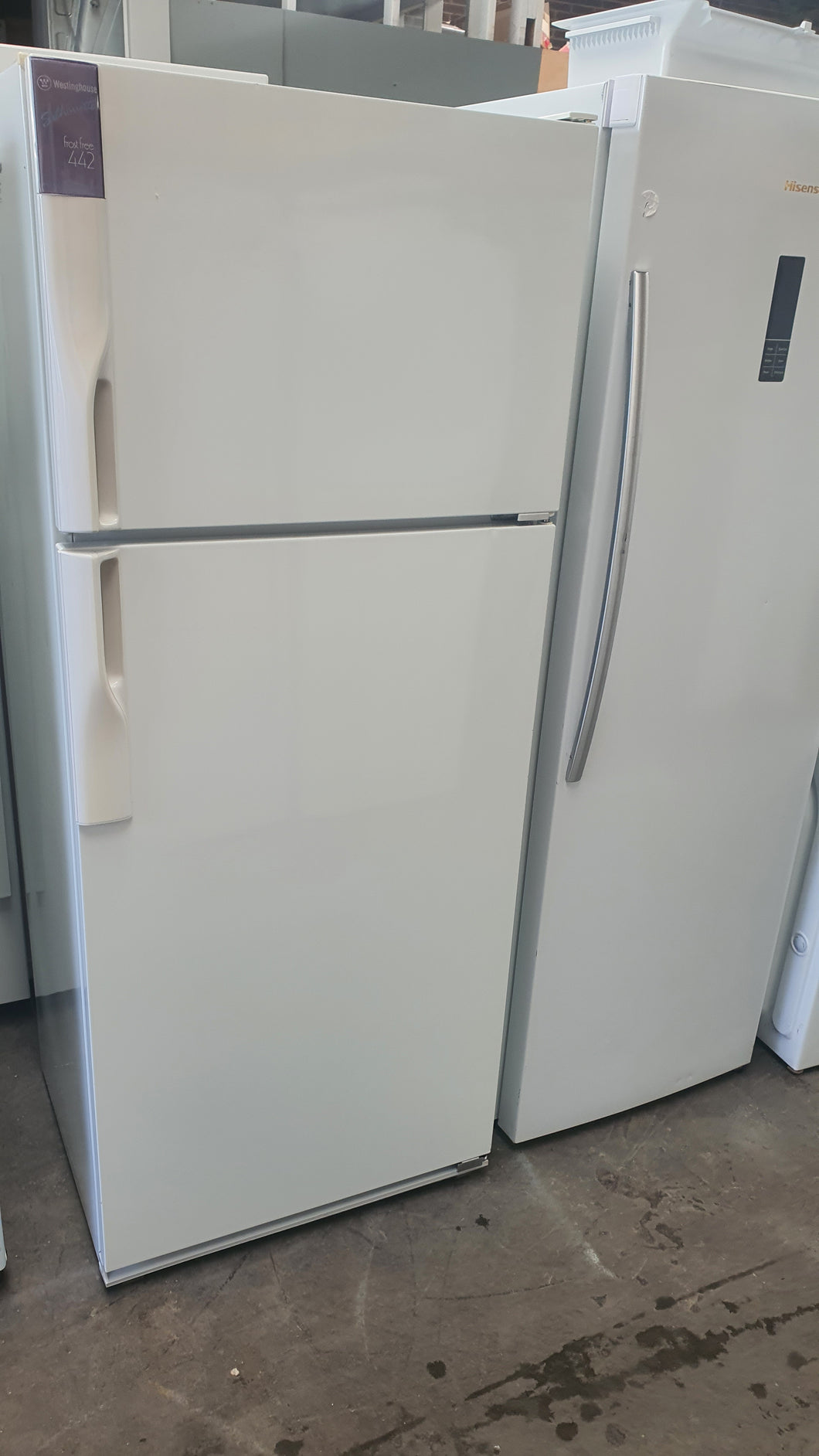 Westinghouse 442L Top Mount Fridge