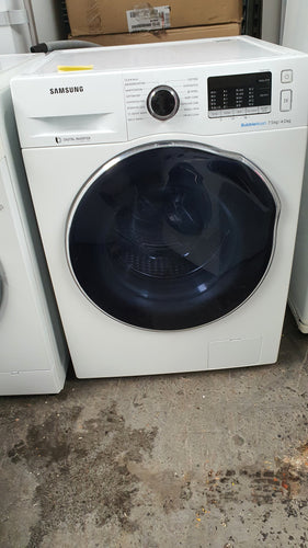 Samsung 7.5/4kg Bubble Wash Front Loader Washer Dryer