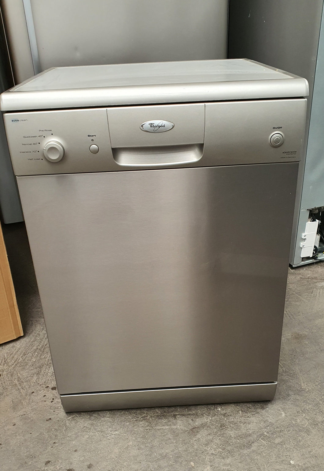 Whirlpool Stainless Steel Dishwasher - Made in Germany