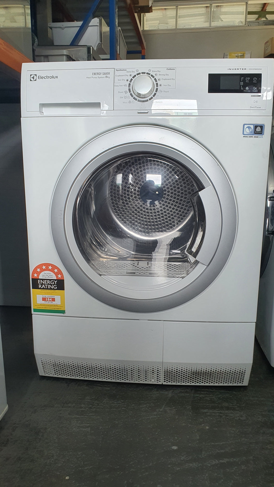 Electrolux 8kg Heat Pump Dryer [6 Star Energy Rating]