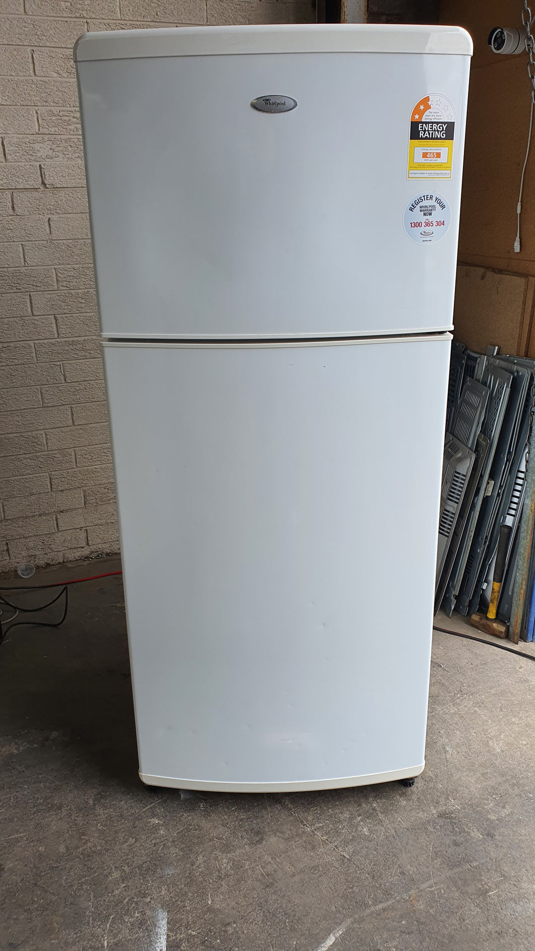 Whirlpool 410L Top Mount Fridge