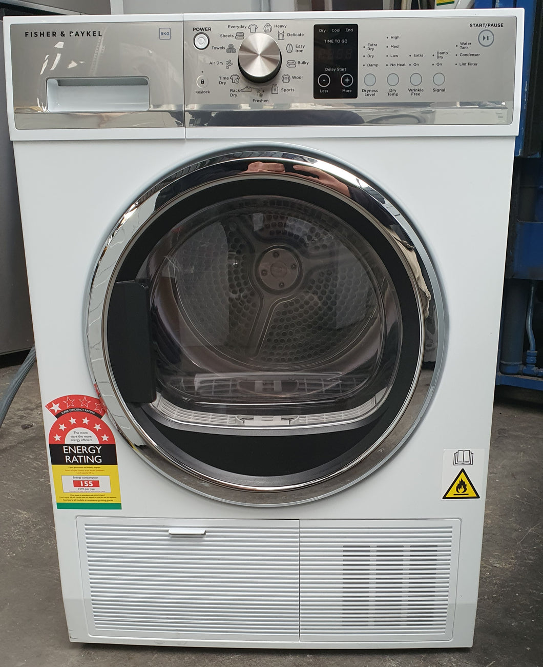 *Current Model* Fisher & Paykel 8kg Heat Pump Dryer [Factory Second]