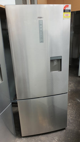 *Current Model* Haier 450L Bottom Mount Fridge with Water [Factory Second]