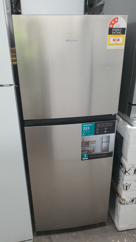 *Current Model* Hisense 223L Stainless Steel Fridge [Factory Second]