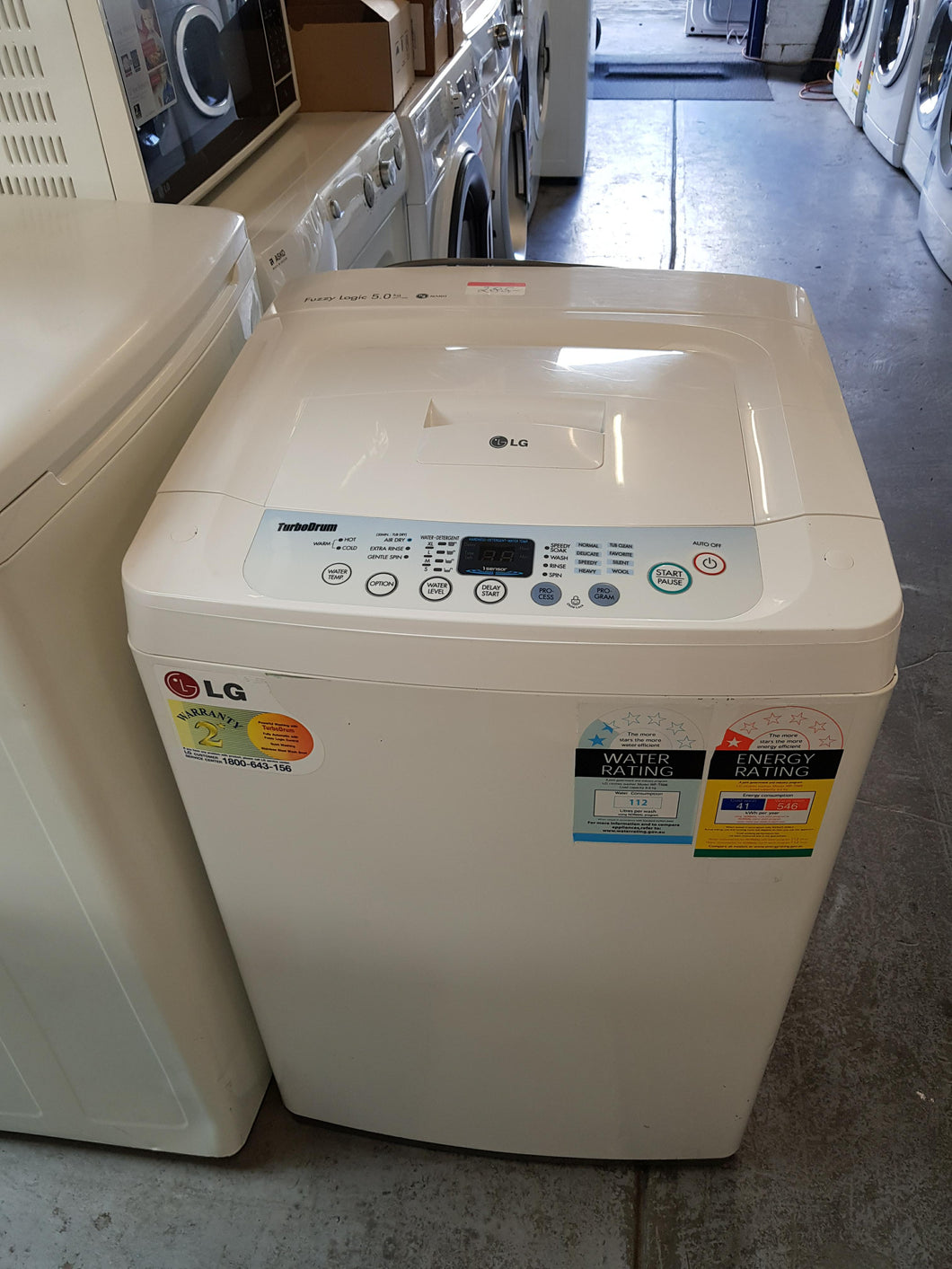 LG 5KG Top Loader - DMS Appliances