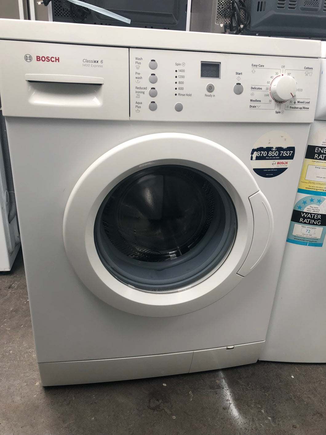 Bosch 6kg Front Loader 1400RPM - DMS Appliances