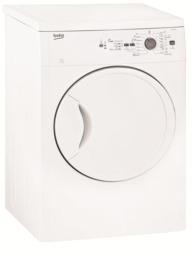 Beko 7kg AUTO SENSING Vented Dryer- NEW - DMS Appliances