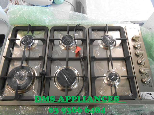 Omega 860mm Gas Cooktop - FACTORY SECOND