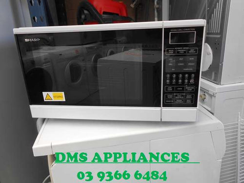 Sharp 30L Double Grill Convection Microwave - Factory Second