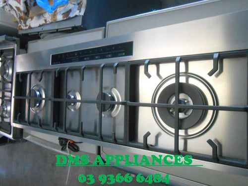 Kleenmaid 120cm Stainless Steel Gas Cooktop