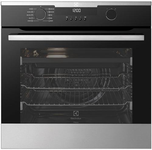 Electrolux 60cm Electric Built-In Pyrolytic Oven- NEW DAMAGED PACKAGING