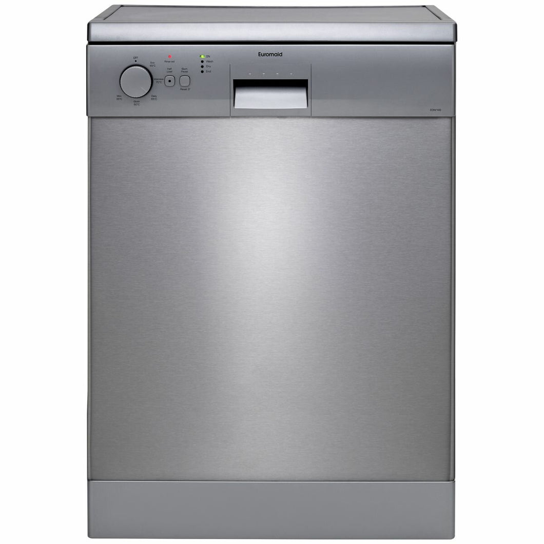 Euromaid 60cm Freestanding Stainless Steel Dishwasher [Brand New]