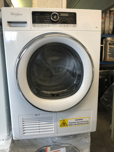Whirlpool 8kg Condenser Dryer- NEW FACTORY SECONDS