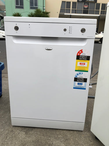 Whirlpool White Dishwasher - NEW FACTORY SECONDS
