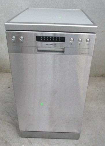 Domain 45cm Slimline Stainless Steel Electronic Freestanding Dishwasher - Factory Second - DMS Appliances