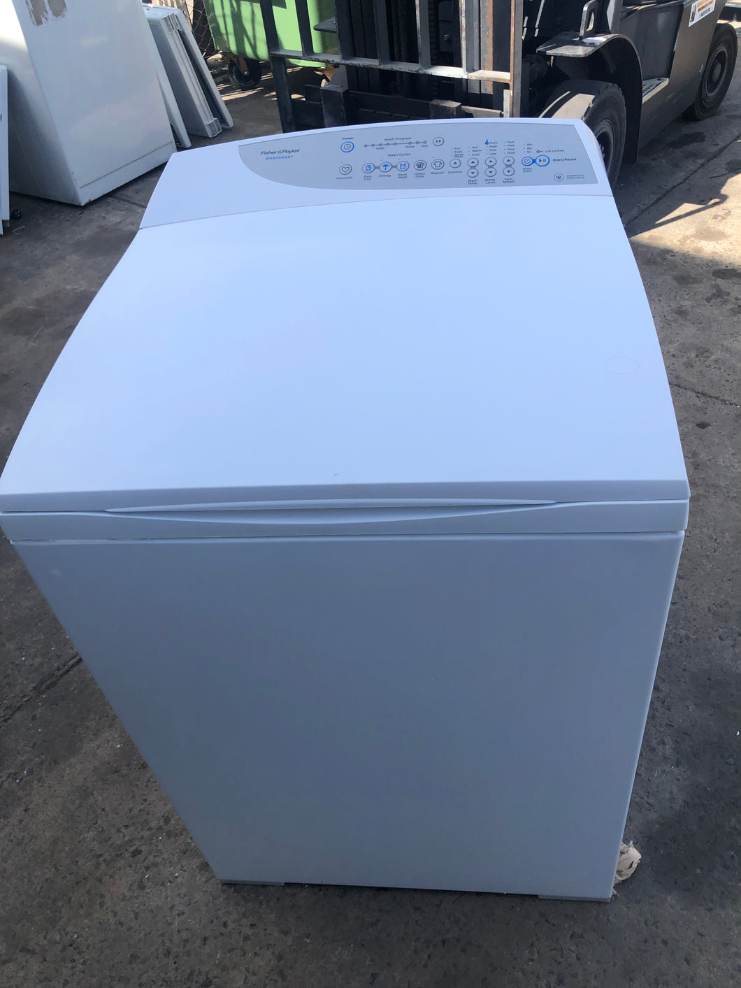 Fisher & Paykel 8kg WashSmart Top Loader