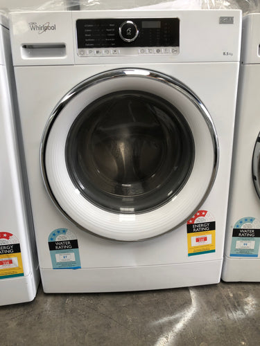 Whirlpool 8.5kg Front Loader - MADE IN ITALY RRP: $929 NEW FACTORY SECOND