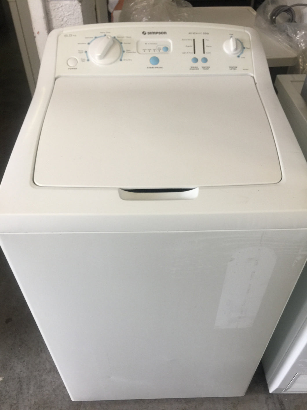 Simpson 5.5kg Top loader - DMS Appliances