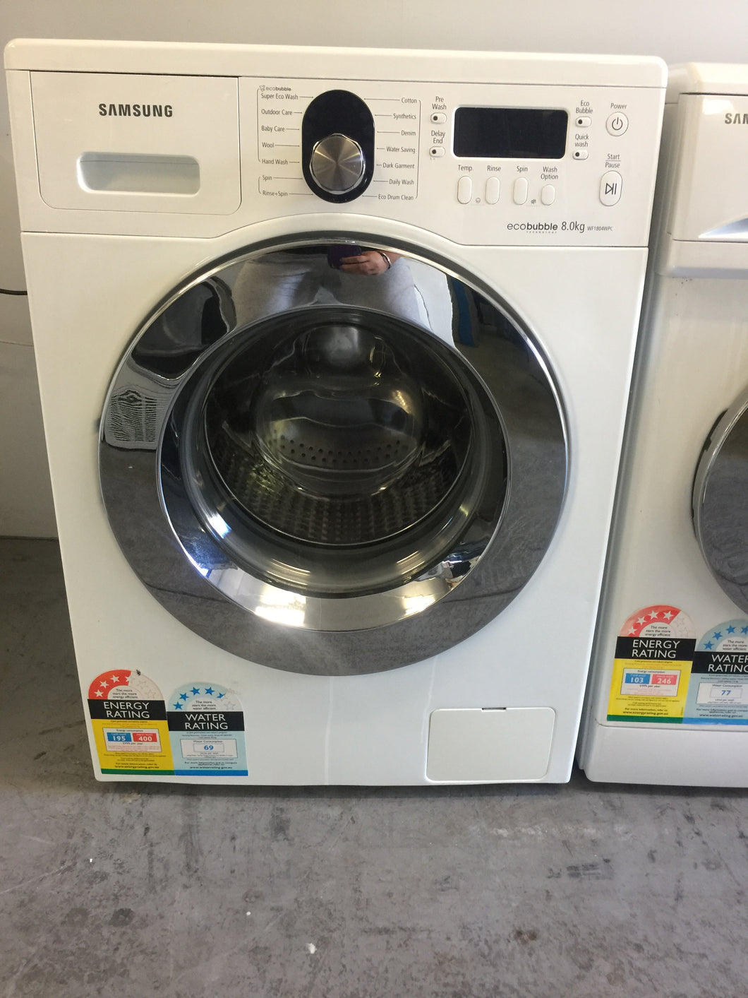 Samsung 8Kg Eco Bubble Front Loader - DMS Appliances